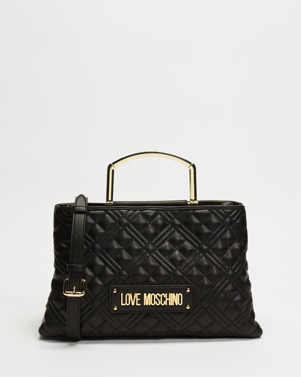 LOVE MOSCHINO Borsa Quilted Nappa Bag Handbags Nero