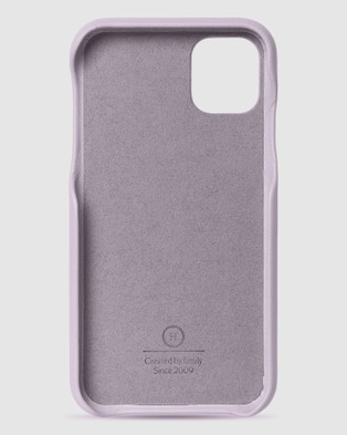 The Horse iPhone 11   The Scalloped iPhone Cover - Tech Accessories (Lavender iPhone 11)