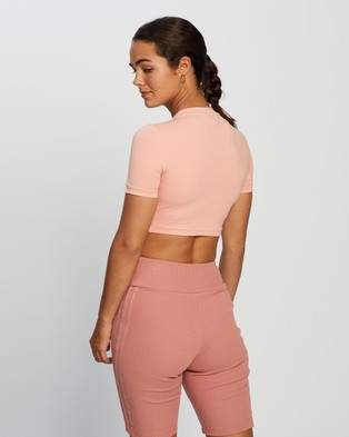 adidas Originals R.Y.V. Cropped Tee - Cropped tops (Trace Pink)