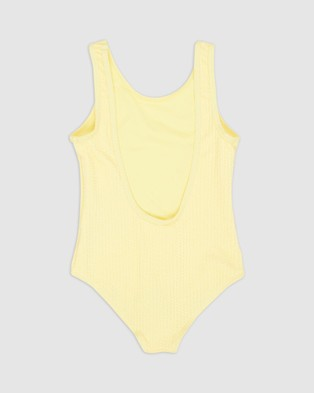 Duskii Amelie Scoop One Piece   Teens - All gift sets (Canary Yellow)