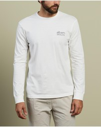 Albam - Utility Long Sleeve Graphic T-Shirt