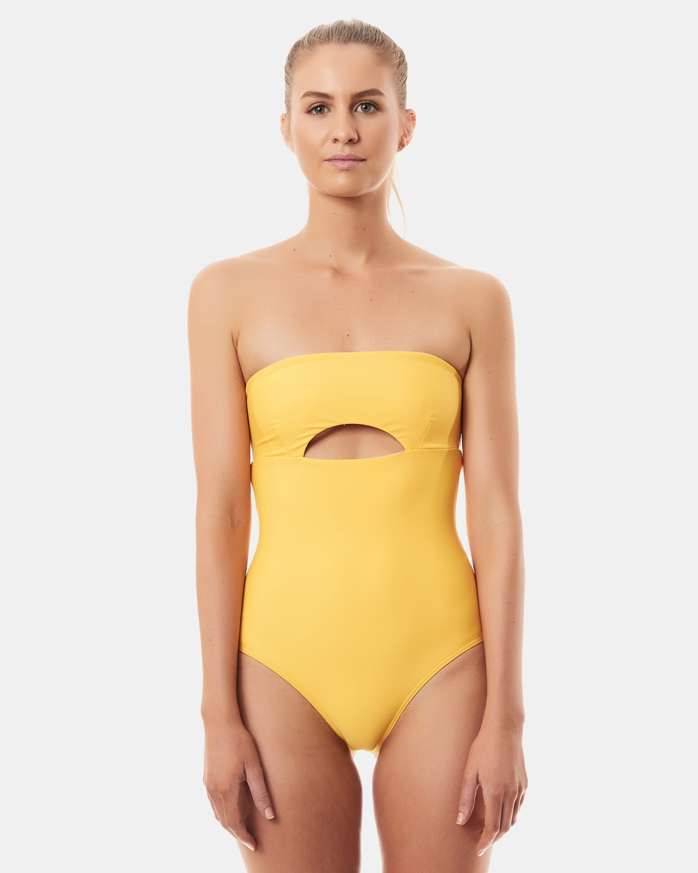 Seapia Puerto One Piece One-Piece / Swimsuit Yellow Puerto One Piece