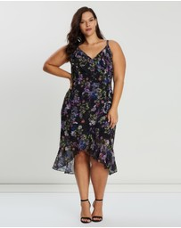 Cooper St - CS CURVY Le Jardin Drape Dress