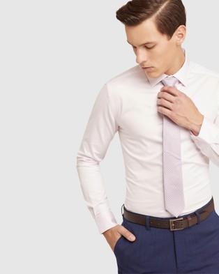Oxford Beckton Twill Shirt - Shirts & Polos (Pink)