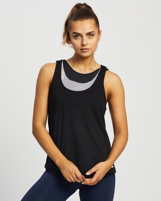 Lilybod Cienna Tank - Muscle Tops (Black & White)