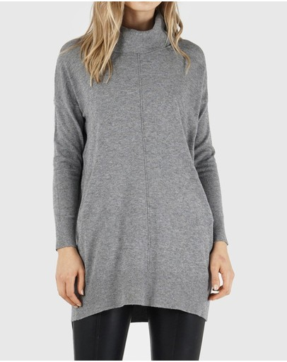 Amelius Cassis Knit Grey Marle