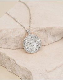 By Charlotte - Taurus Zodiac Necklace