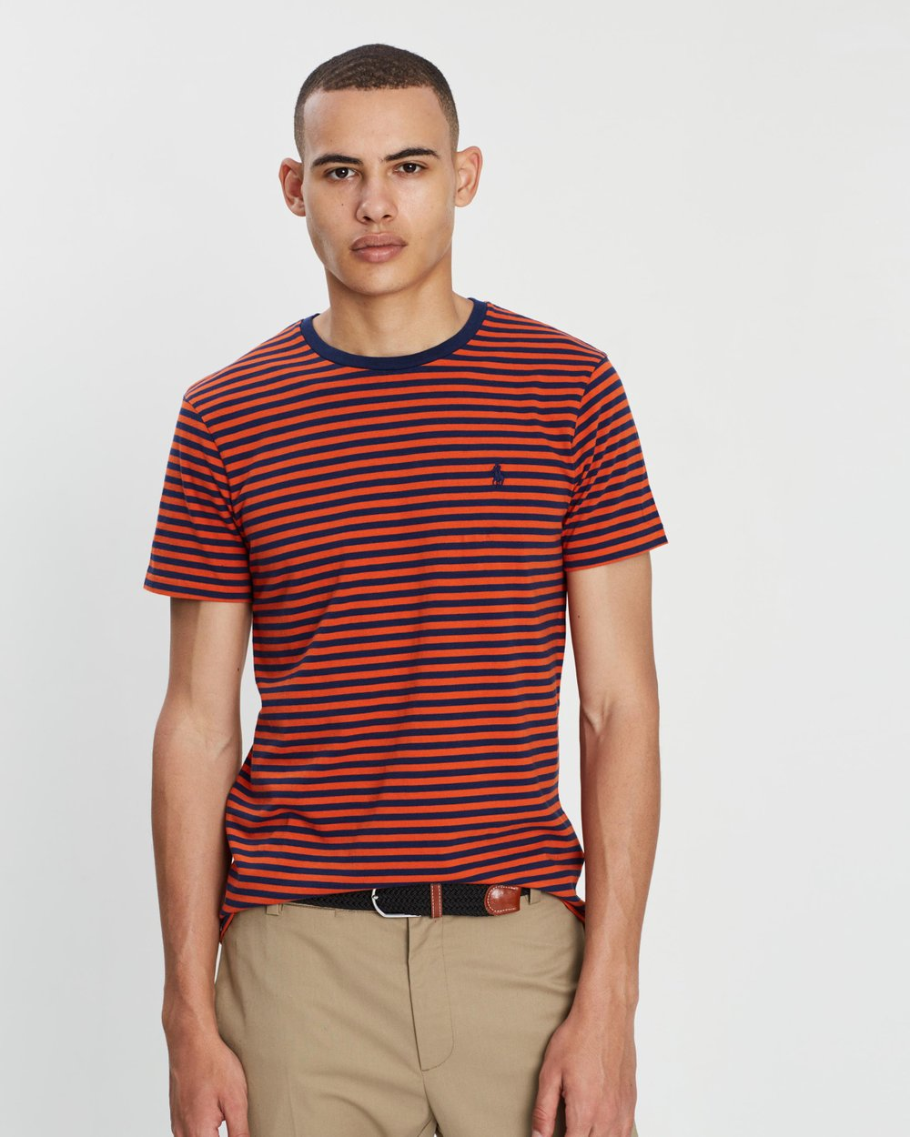 8bf0a44fbc7f4d Custom Slim Fit Cotton T-Shirt by Polo Ralph Lauren Online | THE ICONIC |  Australia