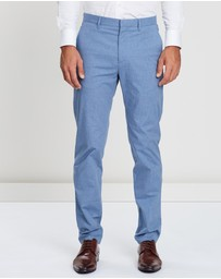 CERRUTI 1881 - Casual Cotton Twill Pinstriped Pants
