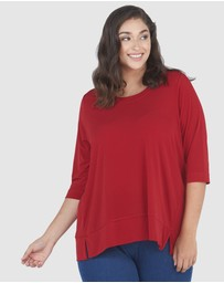 Advocado Plus - Side Split Essential Top