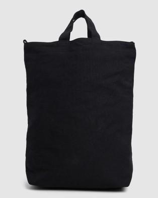 RVCA Split Up Tote - Bags (BLACK)