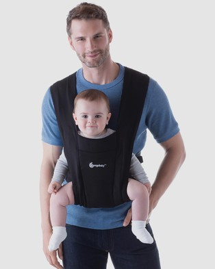 Ergobaby Embrace Carrier All Baby Carriers Pure Black