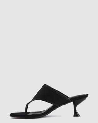 Nakedvice The Winston Heel Heels Black