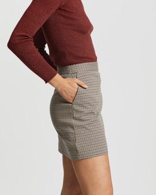 M.N.G Charlott Skirt - Skirts (Brown)