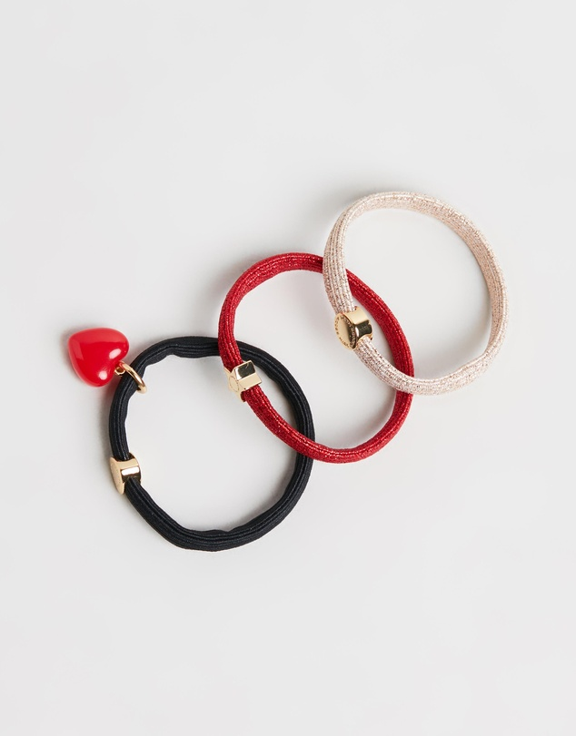 Marc Jacobs - The Heart Charm Hair Elastics
