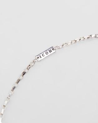 Icon Brand Cannes Sunglasses Chain - Sunglasses (Silver)