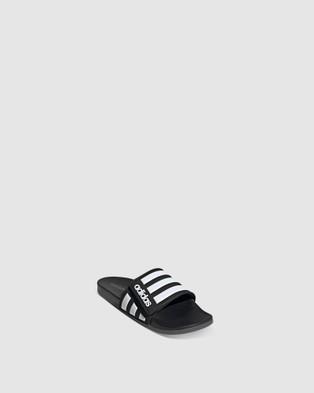 adidas Performance Adilette Comfort Adjustable Slides Sandals Black