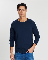 Jack & Jones - Union Crew Neck Knit