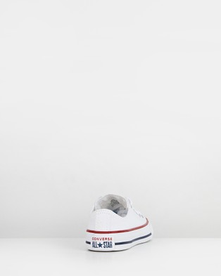 Converse - Chuck Taylor All Star Ox Youth Lifestyle Shoes (White)
