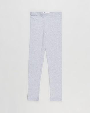 Cotton On Kids 3 Pack Huggie Tights   Kids Teens - Pants (Grey Marle)