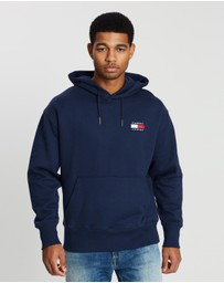 Tommy Jeans - Tommy Badge Terry Hoodie