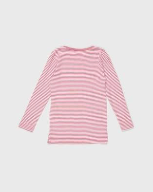 Cotton On Kids - Jessie Crew Tee   Kids Teens - T-Shirts & Singlets (Very Berry & Dark Vanilla Stripe) Jessie Crew Tee - Kids-Teens