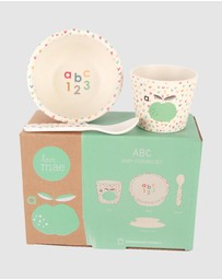 Love Mae - Bamboo Baby Feeding Set