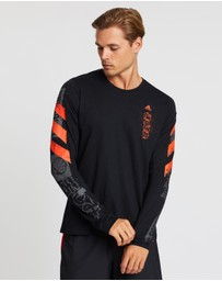 adidas Performance - Fast Graphic LS Tee
