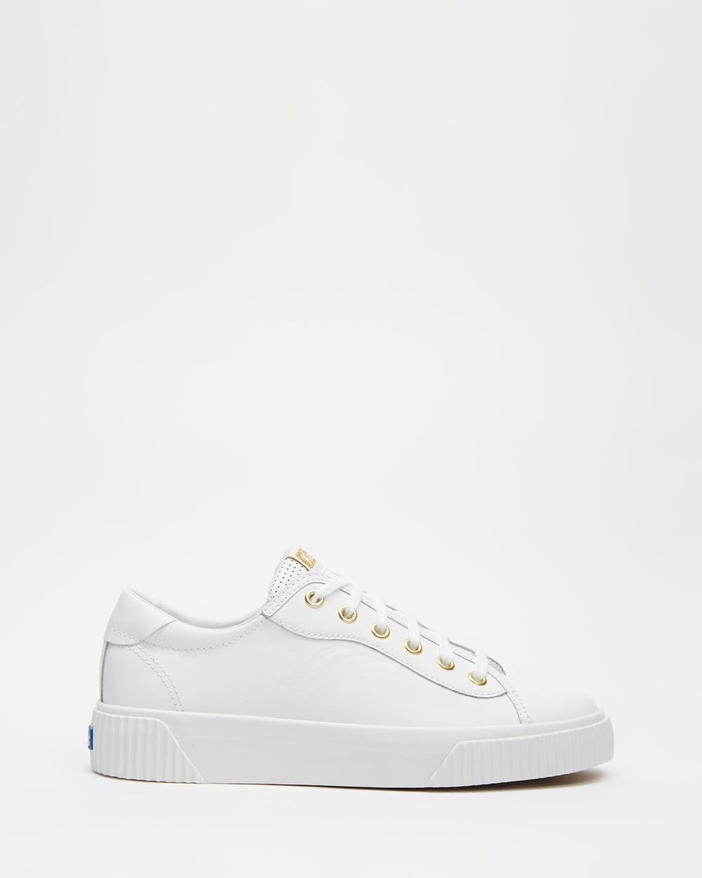 Keds Crew Kick Alto Leather Sneakers Women's White