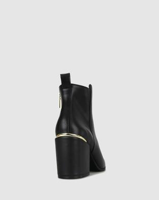 Zeroe - Creek Accent Heel Boots Heels (Black)