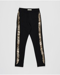 Andorine - Embellished Leggings - Kids-Teens