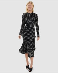 Cooper St - Magnolia Polka Dot Midi Dress