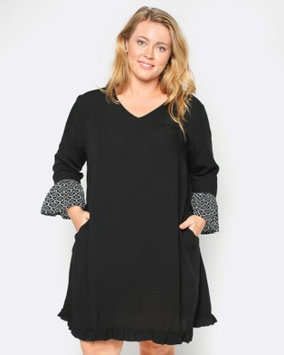 Adrift – Cora Dress – Dresses (Black)