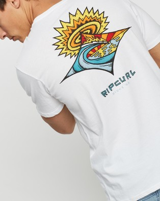 Rip Curl Scorched Earth Tee - T-Shirts & Singlets (White)