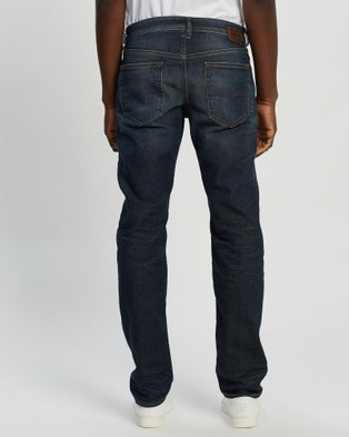 Diesel Buster Tapered Jeans - Tapered (Dark Blue)