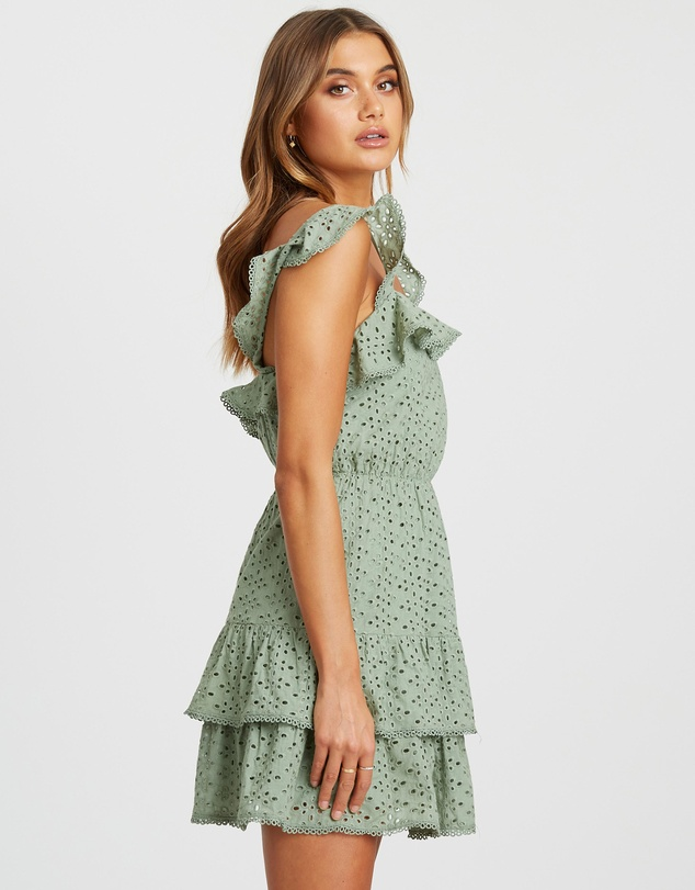 The Fated - Monet Broderie Dress