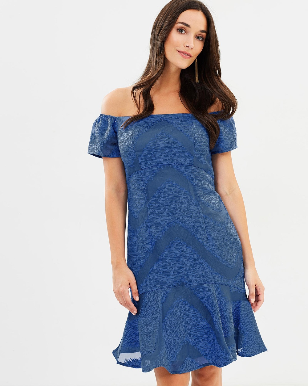 Honey and Beau Moonstruck Flip Dress Dresses Blue Moonstruck Flip Dress