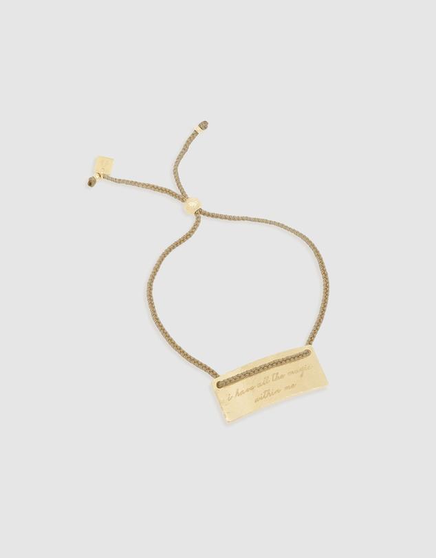 Women Pisces Cord Zodiac Bracelet
