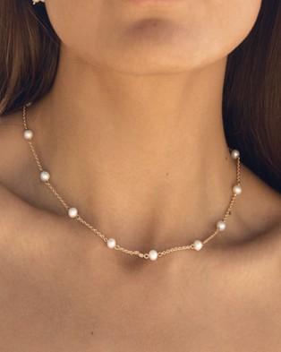 ALIX YANG Dahlia Choker - Jewellery (Red)
