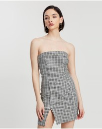 Bec & Bridge - Gingham Girl Mini Dress