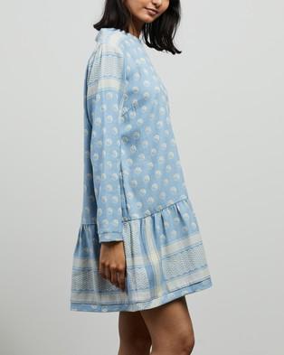 Cecilie Copenhagen Dress 2 O LS Yin - Dresses (Cloudie)