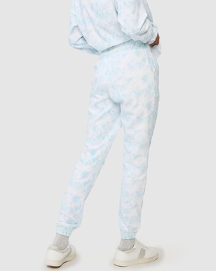 Cotton On Body Active Gym Track Pants - Track Pants (Baby Blue Tie Dye)