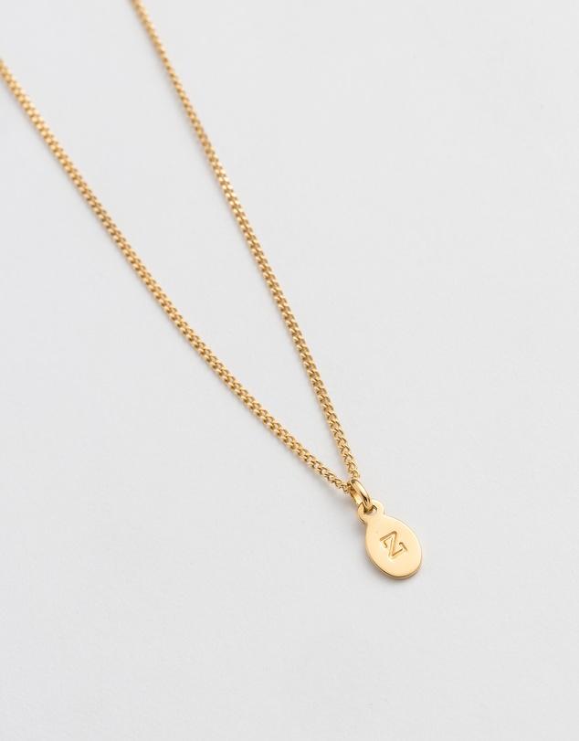 Women Initial Z Necklace