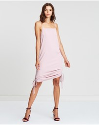 Atmos&Here - Jenna Drape Front Mini Dress