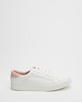 Dazie Samara Sneakers - Sneakers (White & Pink)
