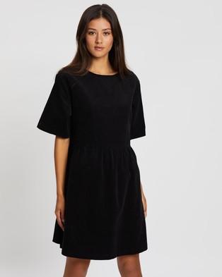Assembly Label Drawn Cord Dress - Dresses (Black)