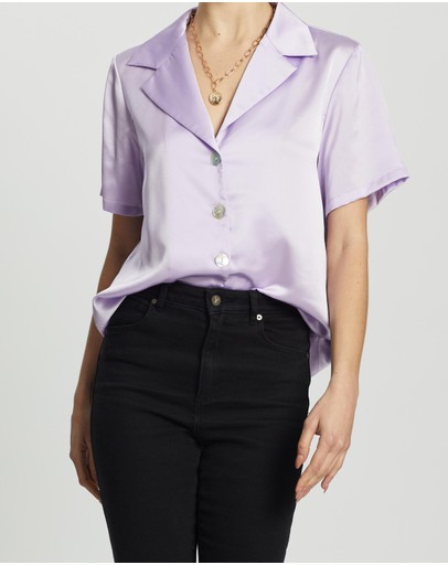 Dazie - Serene Button Up Shirt