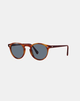 Oliver Peoples Gregory Peck Sun - Sunglasses (Havana & Photochromic Indigo)