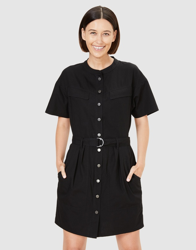 French Connection - Belted Utility Dress