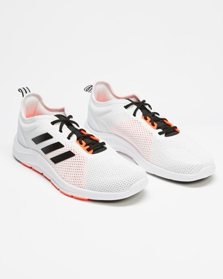 adidas Performance Asweetrain Shoes   Men's - Training (Footwear White, Core Black & Solar Red)